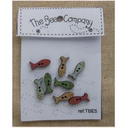 8 mini poissons