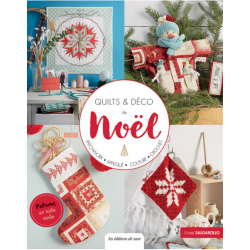 Les Editions de Saxe - Quilts & Déco de Noël