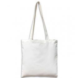 Sac ou tote bag blanc à broder