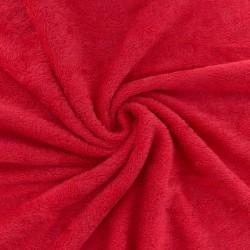 Eponge bambou coloris rouge coquelicot (Par 10 cm - Quantité min. 3)