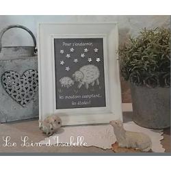 """Le Lin d'Isabelle """"Moutons et étoiles"""""""