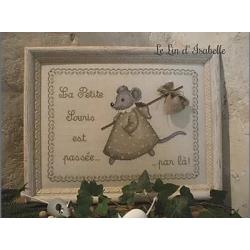 """Le Lin d'Isabelle """"La petite souris est passée"""""""