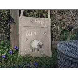 """Le Lin d'Isabelle - Sac """"mouton"""""""