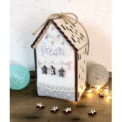 "The Bee Company - Kit de patchwork - Maison lumineuse ""Dream"""