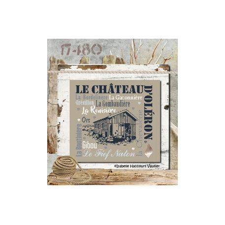"""Isabelle Haccourt Vautier """"Le Château d'Oléron"""""""