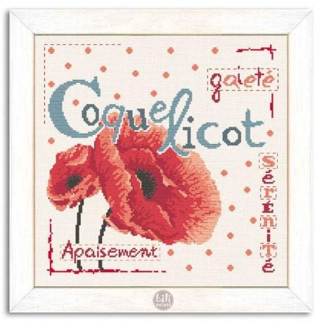 Lilipoints - Le Coquelicot
