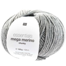 Rico Design - Essentials Mega Wool Chunky Gris Clair