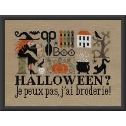 Jardin Privé - Halloween ? Je peux pas, j'ai broderie