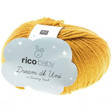 Rico Design - Laine Dream DK - Coloris  Moutarde ou 09