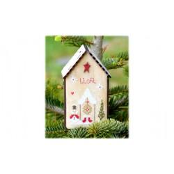 Fleurs de Lin -  Nichoir de Noël I