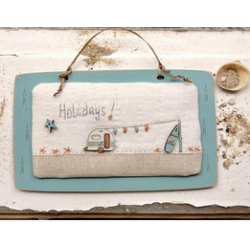 "The Bee Company - Kit de patchwork caravane ""Holidays"" bord de mer"