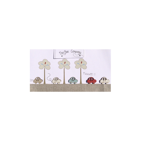 The Bee Company - Boutons voitures assorties - bois peint