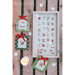Madame Chantilly - Christmas Stamps
