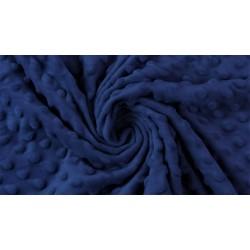 Minky Polaire coloris marine