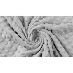 Minky Polaire coloris gris clair