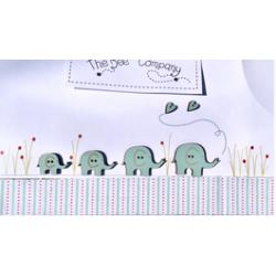 The Bee Company - Boutons - Elephants