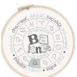 Lilipoints - Signe du Zodiaque : Balance