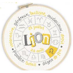 Lilipoints - Signe du Zodiaque : Lion