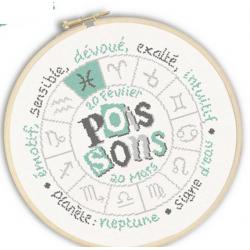 Lilipoints - Signe du Zodiaque : Poissons