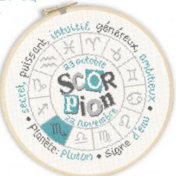 Lilipoints - Signe du Zodiaque : Scorpion