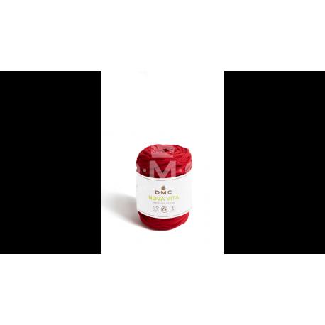 DMC - Coton recyclé Nova Vita coloris rouge
