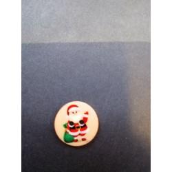 Bouton de Noël plat