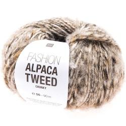 Rico Design - Alpaca tweed Chunky coloris beige