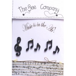"""The Bee Company : Boutons """"Music in the air"""""""