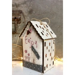 "The Bee Company - Kit de patchwork - Maison lumineuse ""Enjoy"""