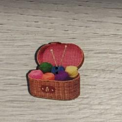 Boutons boîte à tricot