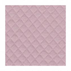 France Duval - Tissu jersey matelassé coloris rose