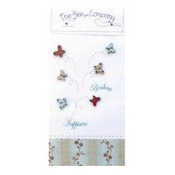 The Bee Company : Boutons papillons