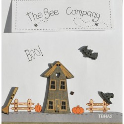 """THE BEE COMPANY : boutons """"Boo!"""""""