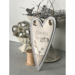"""The Bee Company : Kit de patchwork - Cadre cage """"Always Love"""""""