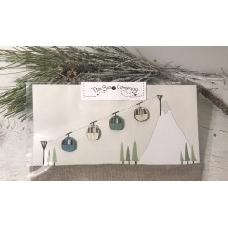 The Bee Company : Boutons Hiver en montagne