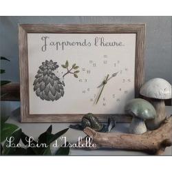 """Le Lin d'Isabelle - Abécédaire """"Flanelle"""""""