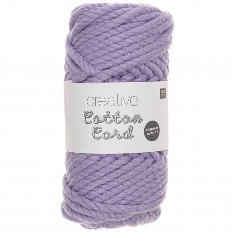 Rico Design : Creative Cotton Cord coloris lilas