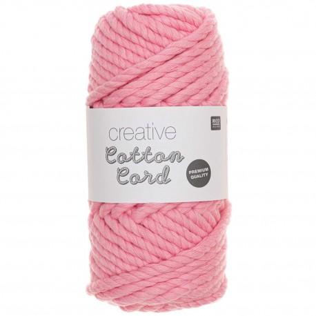 Rico Design : Creative Cotton Cord coloris rose