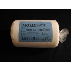 Molleton polyester Nuage 1.80 m x 2.50m