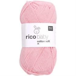 Rico Design : Baby Cotton Soft Jaune pastel