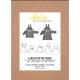 ikatee : Pochette patron de couture GRAND'OURSE Gilet 6M-4A