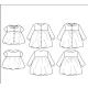 Ikatee : Pochette patron de couture STOCKHOLM KIDS Blouse + Robe 3-12A