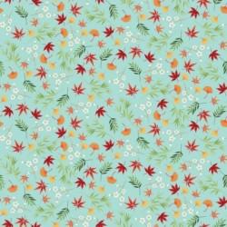 Makower : Michiko Floral Blue
