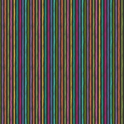 Makower : Cats Chalky Stripe Grey