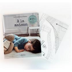 """Ikatee : Livre de couture bébé """"À LA MAISON"""""""
