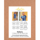 Ikatee : Pochette patron de couture SAKURA femme Blouse et Robe 32-52