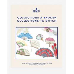 DMC : Book broderie Point de Croix motifs collections