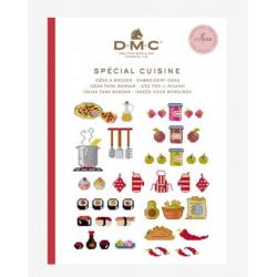 DMC :  Mini livre point de croix  Cuisine