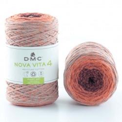 DMC - Nova Vita 4  multico coloris orange et gris 105