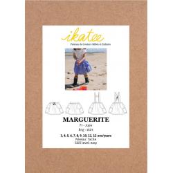 Ikatee : Pochette Patron de couture MARGUERITE Jupe 3-12A